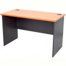 Rapid worker desk open 1800 x 900mm cherry/ironstone