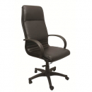 Rapidline executive chair high back single point lock pu black