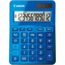 Canon ls-123m calculator dual power 12 digit metalic blue