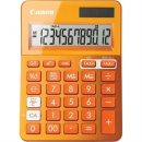 Canon ls-123m calculator dual power 12 digit metalic orange