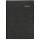 Collins vanessa pvc journal notebook A5 200 page black
