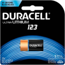 Duracell DL123A 3V battery