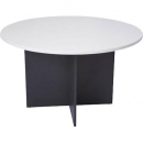RAPID WORKER ROUND MEETING TABLE 1200MM GREY