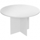 RAPIDLINE ROUND TABLE 900MM GREY