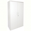 Rapid worker cupboard lockable 1800 x 900 x 450mm grey