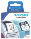 Dymo lw labels disk 54 x 70mm 1 x roll 320 white