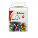 Esselte 45108 map pins assorted pack 200