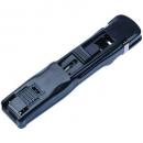 Esselte nalclip dispenser medium with 8 stainless steel clips black