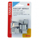 Esselte nalclip refills large stainless steel pack 25
