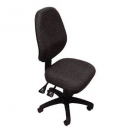 Rapidline operator chair high back 2 lever adk charcoal