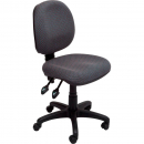 Rapidline operator chair medium back 2 lever adk charcoal