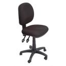Rapidline operators chair medium back sf black