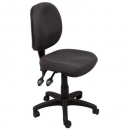 Rapidline operator chair medium back 3 lever adk charcoal