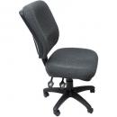 RAPIDLINE ERGONOMIC TYPIST CHAIR SQUARE BACK SEAT/BACK TILT ADK CHARCOAL