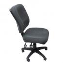 RAPIDLINE ERGONOMIC TYPIST CHAIR SQUARE BACK SEAT/BACK TILT NAVY