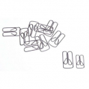 Esselte no 2 owl clips 20mm pack 100