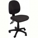 Rapidline et20 operator chair medium back 2 lever black