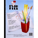 Flip files display book A2 10 pocket