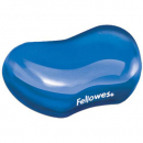 Fellowes flex gel wrist rest crystal blue