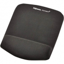 Fellowes mouse pad plush with wrist rest