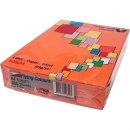 Flying colours coloured A4 copy paper 80gsm saffron (orange) 500 sheets