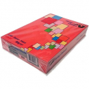 Flying colours coloured A4 copy paper 80gsm red 500 sheets