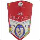 Faber castell pencil junior grip triangular 2b box 72