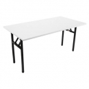 Rapidline folding table 1500 x 750mm grey