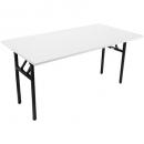 Rapidline folding table 1500 x 750mm white