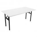 Rapidline folding table 1800 x 750mm grey