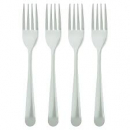 Fork metal pack of 4