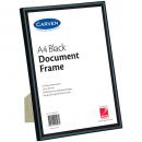Carven document frame A4 black
