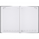 Cumberland financial year casebound diary A4 1 day to a page black