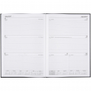 Cumberland financial year casebound diary A4 week to view black