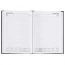 Cumberland casebound diary A5 day to page black
