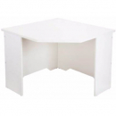 Rapid vibe corner desk 900 x 900 x 600 x 730mm white