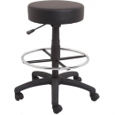 Rapidline data stool counter height black