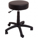 Rapidline data stool desk height black