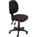 Rapidline operator chair medium back 2 lever black