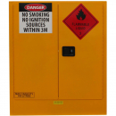 Rapidline flammable liquids cabinet 160 litre 1100 x 465 x 1295mm yellow