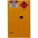 Rapidline flammable liquids cabinet 250 litre 1100 x 500 x 1825mm yellow