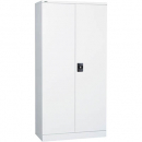 GO SWING DOOR STEEL CUPBOARD 3 SHELVES 910 X 450 X 1830MM WHITE CHINA
