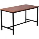 Rapidline high bar table 1800 x 900 x 1050mm cherry