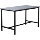 Rapidline high bar table 1800 x 900 x 1050mm grey