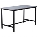 RAPIDLINE HIGH BAR TABLE 1800 X 900 X 1050MM WHITE