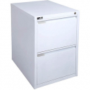 Rapidline 2 drawer filing cabinet 675 x 464 x 620mm