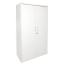 Rapid span cupboard with hinged doors 1800 x 900 x 450mm white
