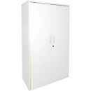 Rapid vibe cupboard lockable 1800 x 900 x 450mm white