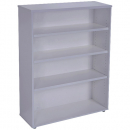 RAPID VIBE BOOKCASE 3 SHELF 900 X 315 X 1200MM GREY