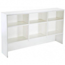 Rapid vibe overhead hutch 1075 x 315 x 1800mm white
